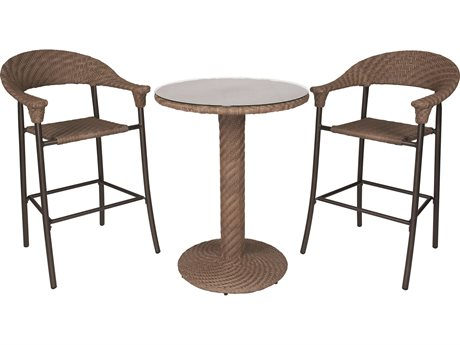 Whitecraft Barlow Wicker Bar Set
