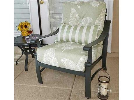 Woodard Bungalow Cushion Aluminum Lounge Set