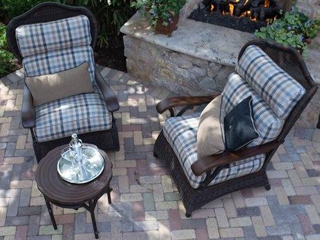 Woodard Whitecraft Chatham Run Wicker Lounge Set - Woodard Chatham Run - Whitecraft Collection