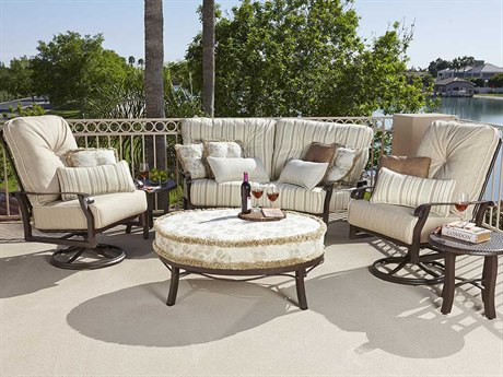 Woodard Cortland Cushion Aluminum Lounge Set