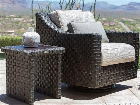 Woodard Cooper Wicker Lounge Set