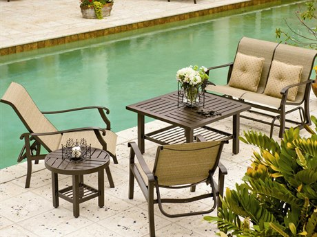Wondrous Sling Patio Furniture Shop Stylish Sling Furniture Gmtry Best Dining Table And Chair Ideas Images Gmtryco