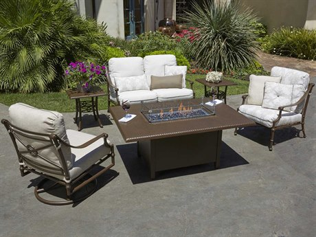 Woodard Delphi Cast Aluminum Lounge Set