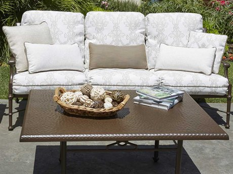 Woodard Delphi Cushion Cast Aluminum Lounge Set