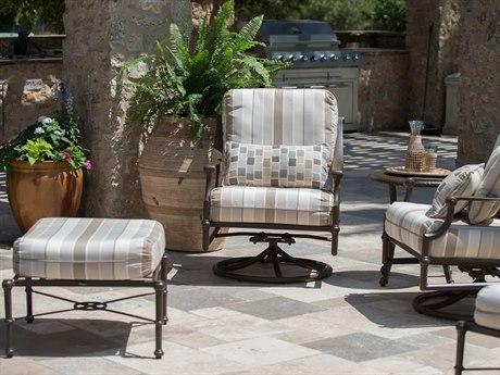 Woodard Delphi Cast Aluminum Cushion Lounge Set