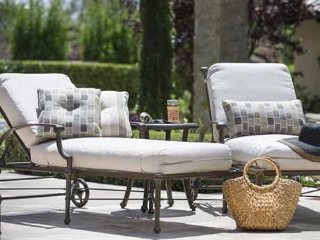 Woodard Delphi Cast Aluminum Cushion Lounge Set