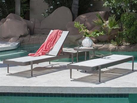 Woodard Daytona Sling Aluminum Lounge Set