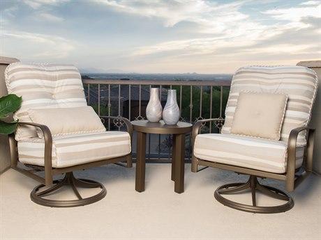 Woodard Fremont Cushion Aluminum Lounge Set