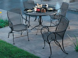 Modesto Wrought Iron Dining Set
