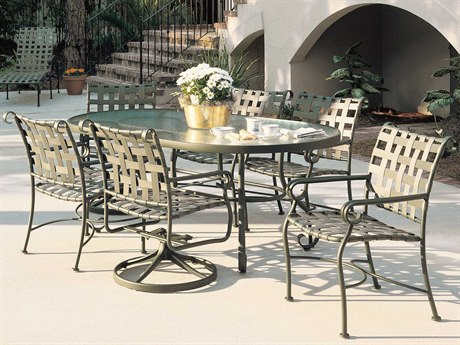 Woodard Ramsgate Aluminum Dining Set PatioLiving