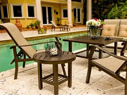 Cortland Sling Aluminum Lounge Set
