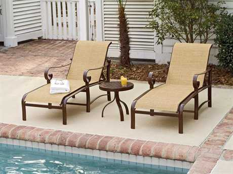 Woodard Belden Sling Aluminum Lounge Set