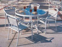 Baja Strap Aluminum Dining Set