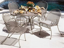 Cantebury Wrought Iron Dining Set