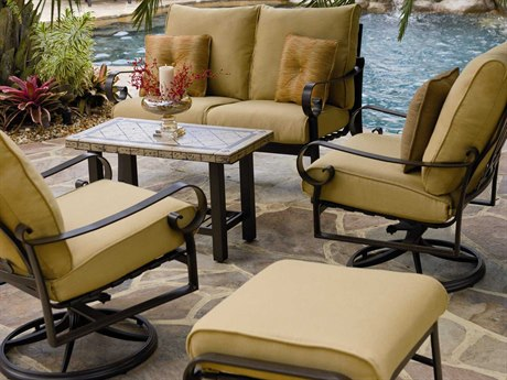 Woodard Belden Cushion Aluminum Lounge Set