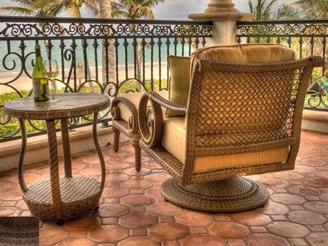 Woodard South Shore Wicker Lounge Set