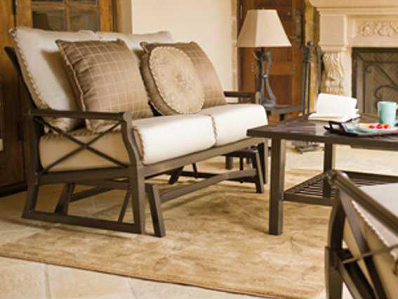 woodard andover cushion aluminum lounge set gvklss. Black Bedroom Furniture Sets. Home Design Ideas