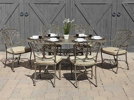Woodard Heritage Cast Aluminum Dining Set