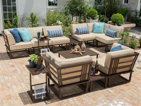 Woodard Harmony Aluminum Lounge Set
