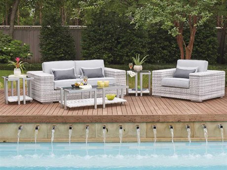 Woodard Imprint Wicker Lounge Set