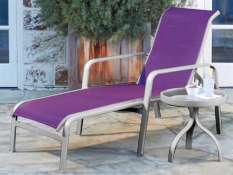 Woodard Landings Sling Aluminum Lounge Set
