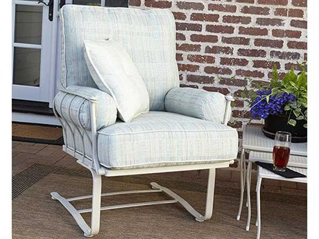 Woodard Maddox Wrought Iron Lounge Set