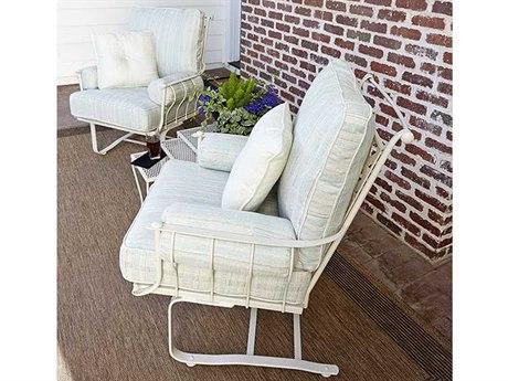 Woodard Maddox Wrought Iron Cushion Lounge Set