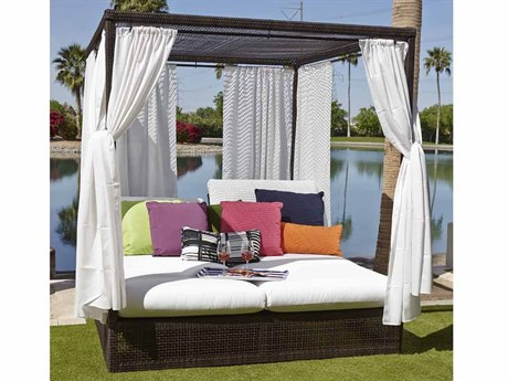 Woodard Whitecraft Montecito Wicker Daybed Set
