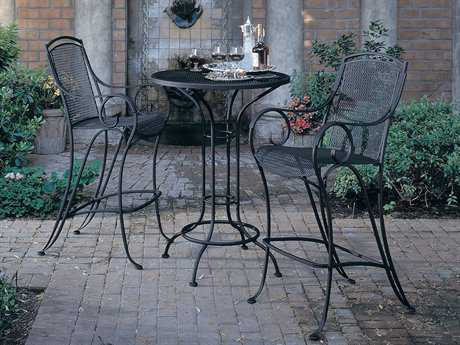 Woodard Modesto Wrought Iron Bar Set