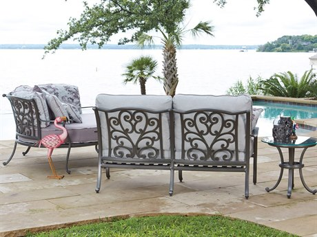 Charmant Woodard New Orleans Cast Aluminum Lounge Set
