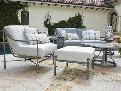 Woodard Nova Cast Aluminum Lounge Set
