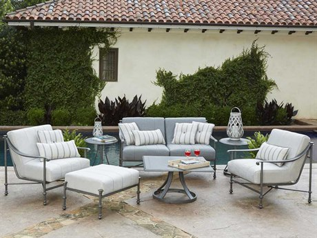 Woodard Nova Cast Aluminum Lounge Set