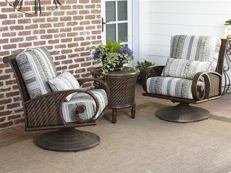 Woodard Whitecraft North Shore Wicker Lounge Set