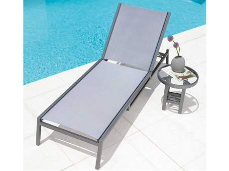 Woodard Palm Coast Aluminum Sling Lounge Set