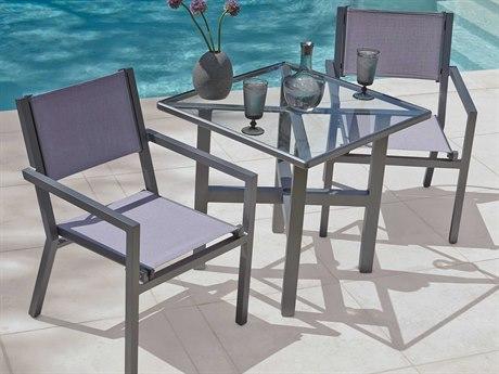 Woodard Palm Coast Aluminum Dining Set