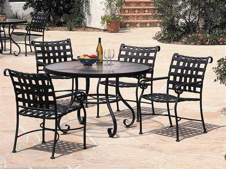 Woodard Ramsgate Aluminum Dining Set
