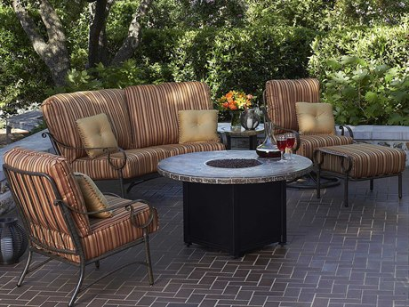 Woodard Ridgecrest Cushion Aluminum Lounge Set