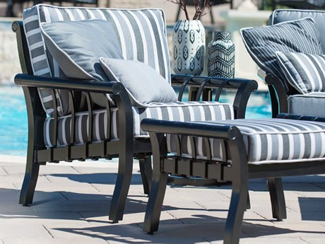 Woodard Rhyss Aluminum Lounge Set