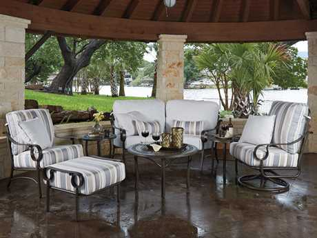 Woodard Ridgecrest Cushion Aluminum Lounge Set