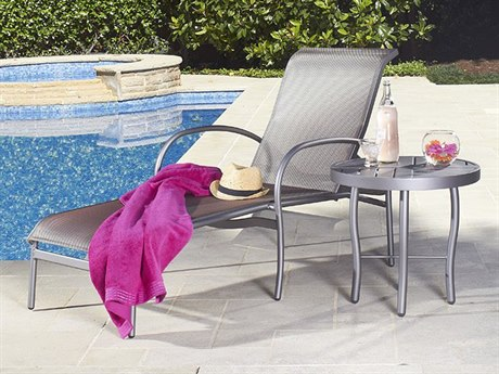 Woodard Rivington Sling Aluminum Lounge Set
