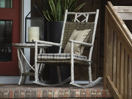Woodard Whitecraft Riven Run Wicker Antique Palm Lounge Set