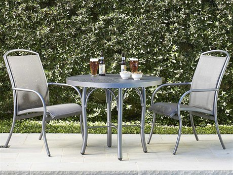 Woodard Rivington Sling Bistro Set