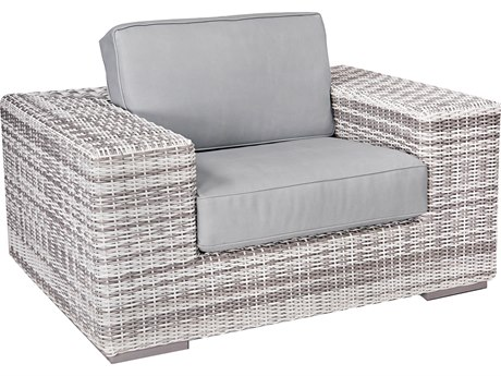 Woodard Imprint Wicker Lounge Chair