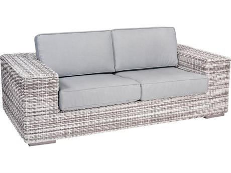 Woodard Imprint Wicker Loveseat