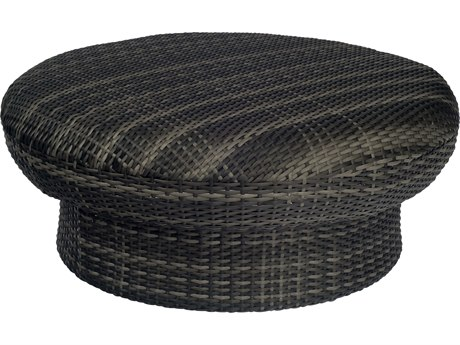 Woodard Canaveral Wicker Genie Ottoman/Coffee Table