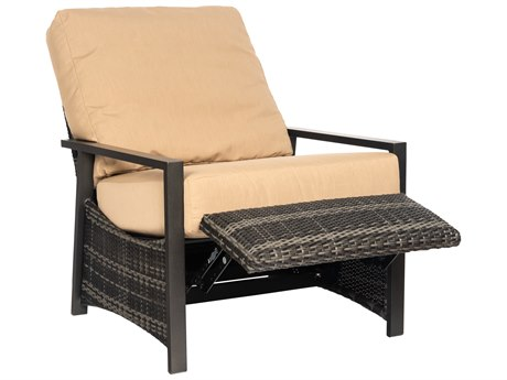 Woodard Canaveral Wicker Reclining Lounge Chair