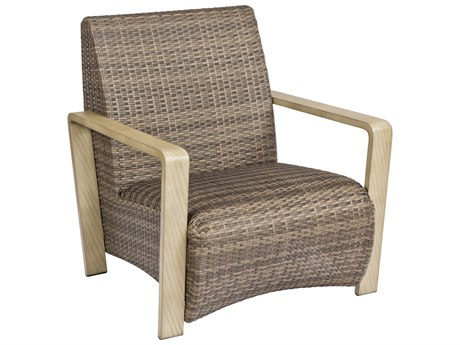 Woodard Reynolds Wicker Lounge Chair