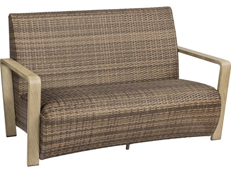 Woodard Reynolds Wicker Loveseat