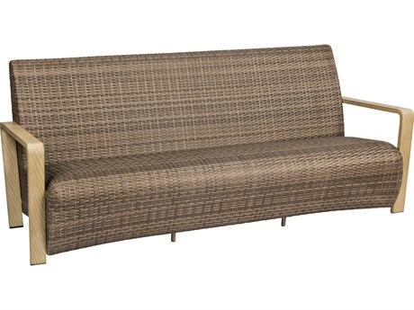 Woodard Reynolds Wicker Latte Sofa