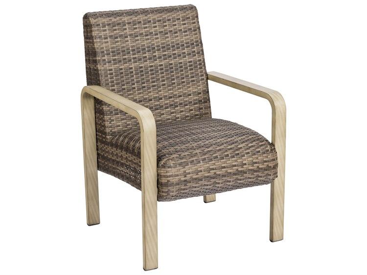 Woodard Reynolds Wicker Dining Chair